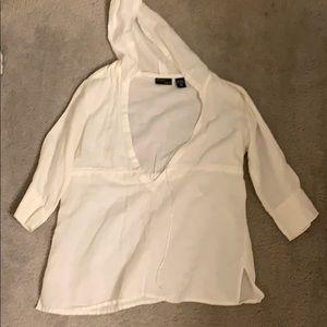 White Pants and Shirt Set